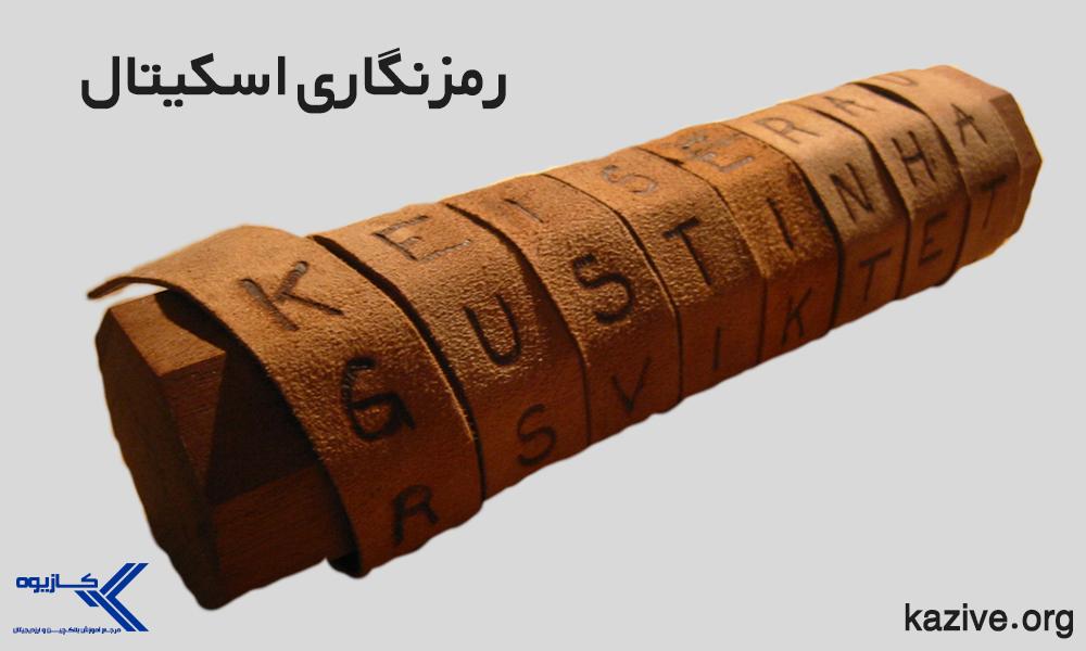 رمزنگاری اسکیتال یکی از روش های رایج در زمان اسپارتها بود که یکی از اولین استفاده های علم رمزنگاری می باشد.